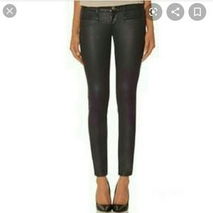 The limited skinny leather look jeans